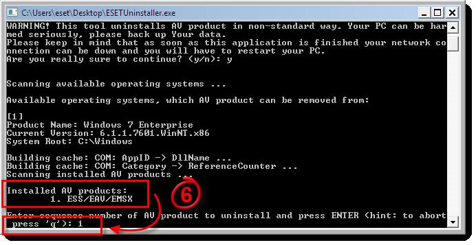 Как удалить eset endpoint antivirus с компьютера